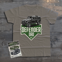 LAND ROVER DEFENDER 110 DAD T-SHIRT