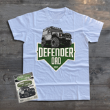 LAND ROVER DEFENDER 90 DAD T-SHIRT