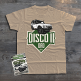 LAND ROVER DAD DISCOVERY T-SHIRT
