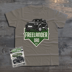 LAND ROVER FREELANDER DAD T-SHIRT