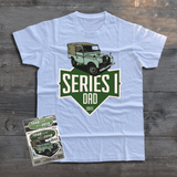 LAND ROVER SERIES ONE DAD T-SHIRT