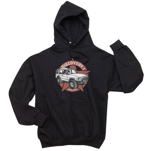 LAND ROVER DISCOVERY HOODIE