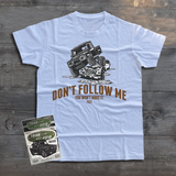 LAND ROVER DON'T FOLLOW ME T-SHIRT