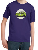 Pudge's Pop Ford 103E Industry & Supply Kids Dark Purple T-Shirt