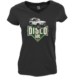 "LAND ROVER ""DISCO GIRL"" V-NECK T-SHIRT"