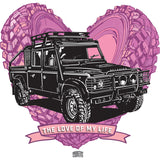 """LOVE OF MY LIFE"" LAND ROVER DEFENDER FREEFLOW LONG SLEEVE T-SHIRT"