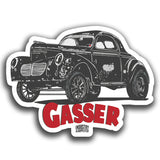 CLASSIC CARS & HOTROD STICKERS