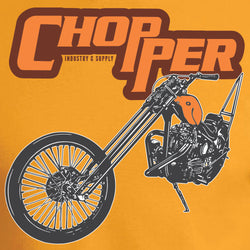 Retro Chopper Design