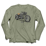 HOLLIS MOTORBIKE LONG SLEEVE T-SHIRT