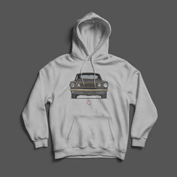 PROJECT SOS MUSTANG FRONT VIEW HOODIE