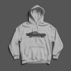 PROJECT SOS MUSTANG SIDE VIEW HOODIE