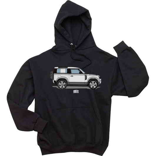 THE NEW DEFENDER HOODIE