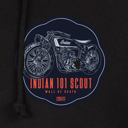INDIAN 101 SCOUT COLLEGE HOODIE