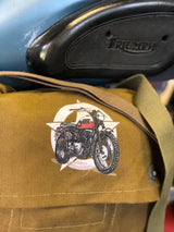 TRIUMPH BONNEVILLE ARMY SURPLUS MESSENGER BAG