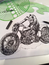 Harley Davidson Artwork Industry & Supply