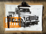 LAND ROVER UTILITY HIGH CAPACITY PICKUP T-SHIRT