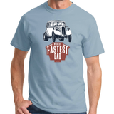 WORLD'S FASTEST DAD FORD POP T-SHIRT