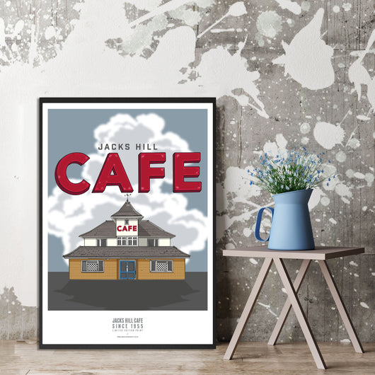 JACKS HILL CAFE ART PRINT