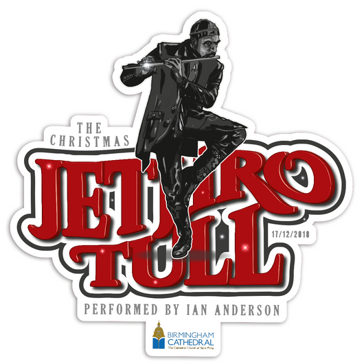 JETHRO TULL STICKER
