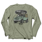 LAND ROVER THE LAST DEFENDER LONG SLEEVE T-SHIRT