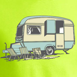 Vintage Caravan Apple Green For Kids