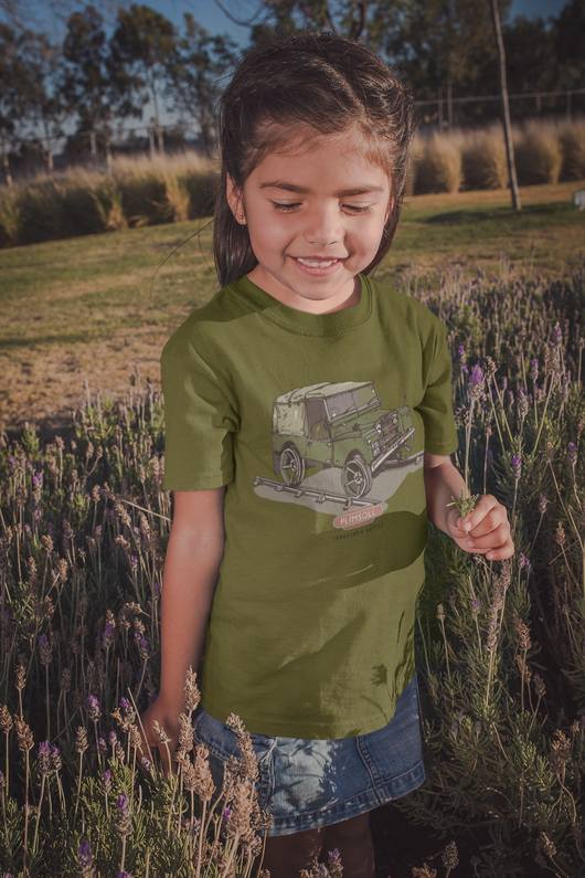 LAND ROVER PLIMSOLL T-SHIRT FOR KIDS