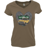 THE BEST 4 X 4 MUM X FAR V-NECK RANGE ROVER T-SHIRTS