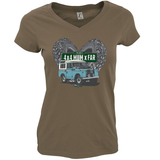 THE BEST 4 X 4 MUM X FAR V-NECK SERIES T-SHIRTS