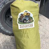 LIMITED EDITION LIZARDILLO WILD CAMPING ADVENDTURE KIT BAGS - NEW CONDITION