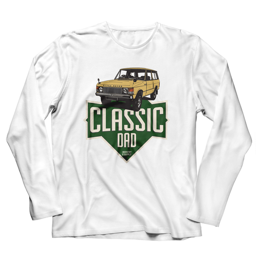 LAND ROVER DAD RANGE ROVER LONG SLEEVE T-SHIRT