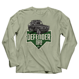 LAND ROVER DAD DEFENDER LONG SLEEVE T-SHIRT