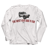 LAND ROVER BEST 4X4 DAD DISCOVERY LONG SLEEVE T-SHIRT