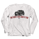 LAND ROVER BEST 4X4 DAD MISC LONG SLEEVE T-SHIRT