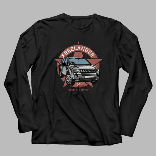 LAND ROVER FREELANDER 2 STAR LONG SLEEVE T-SHIRT