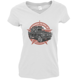 LAND ROVER DEFENDER LADIES V-NECK T-SHIRT