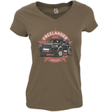 LAND ROVER OTHER LADIES V-NECK T-SHIRT