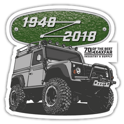 LAND ROVER FREE STICKERS