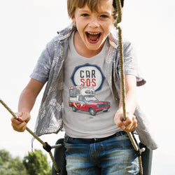 CAR S.O.S. ICE CREAM TRUCK KIDS T-SHIRT