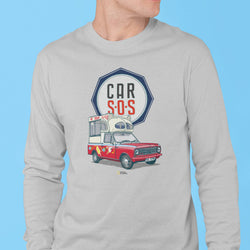 CAR S.O.S. ICE CREAM TRUCK LONG SLEEVE T-SHIRT