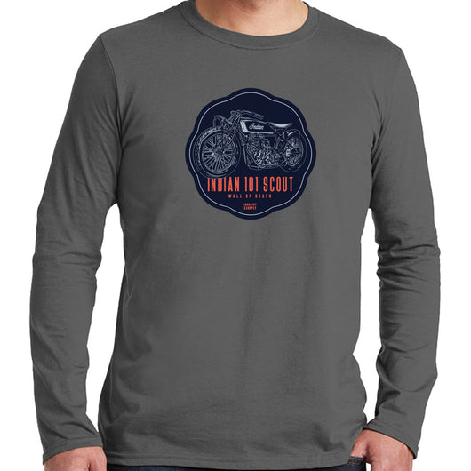 INDIAN 101 SCOUT LONG SLEEVE SHIRT