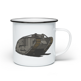 MILITARY ENAMEL MUGS