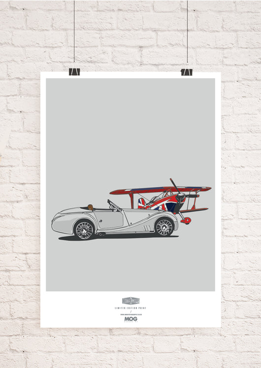 LIMITED EDITION MOG MORGAN ART PRINT
