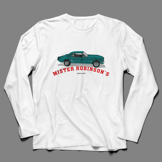 MR ROBINSONS MUSTANG LONG SLEEVE T SHIRT
