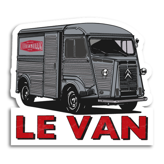 CITROEN H VAN FREE STICKERS