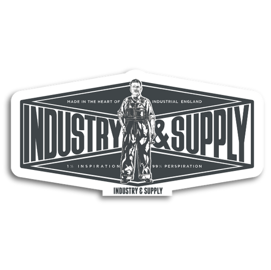 INDUSTRY & SUPPLY LOGO FREE STICKERS