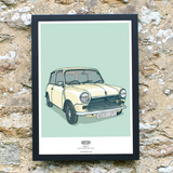 MINI MK3 WALL ART PRINT
