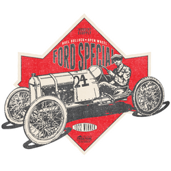 PIKES PEAK 1922 FORD SPECIAL LONG SLEEVE T-SHIRT
