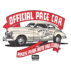 PIKES PEAK 1948 OFFICIAL PACE CAR T-SHIRT