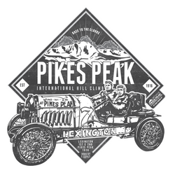 PIKES PEAK 1920 LEXINGTON (V2) KIDS T-SHIRT