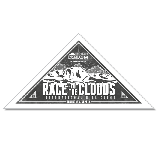 PIKES PEAK RACE TO THE CLOUDS FREE STICKERS